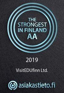 Strongest in Finland 2019 label