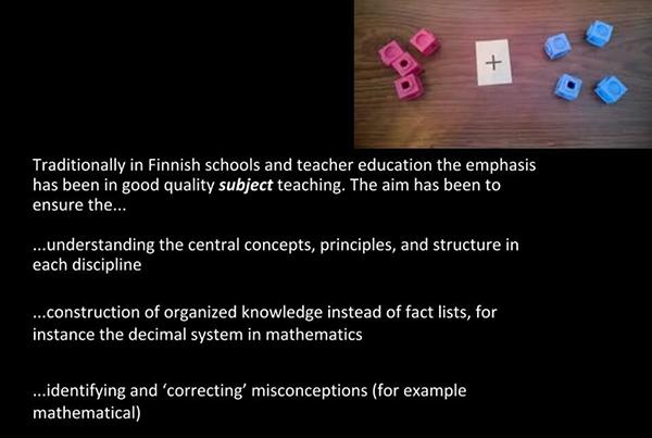 teaching school subjects